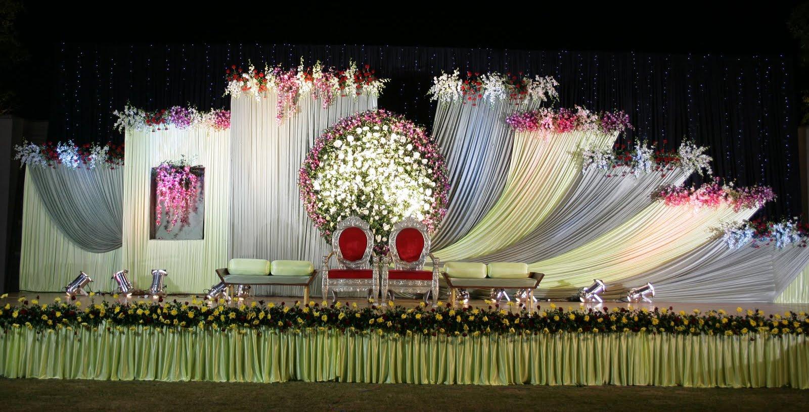 reception sangeet wedding flower decorations and event organizers in hyderabad shobha 39 s. Black Bedroom Furniture Sets. Home Design Ideas
