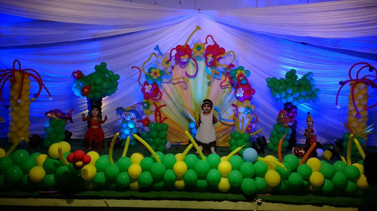 1st birthday organizers and decorations in Vishakapatanam vizag