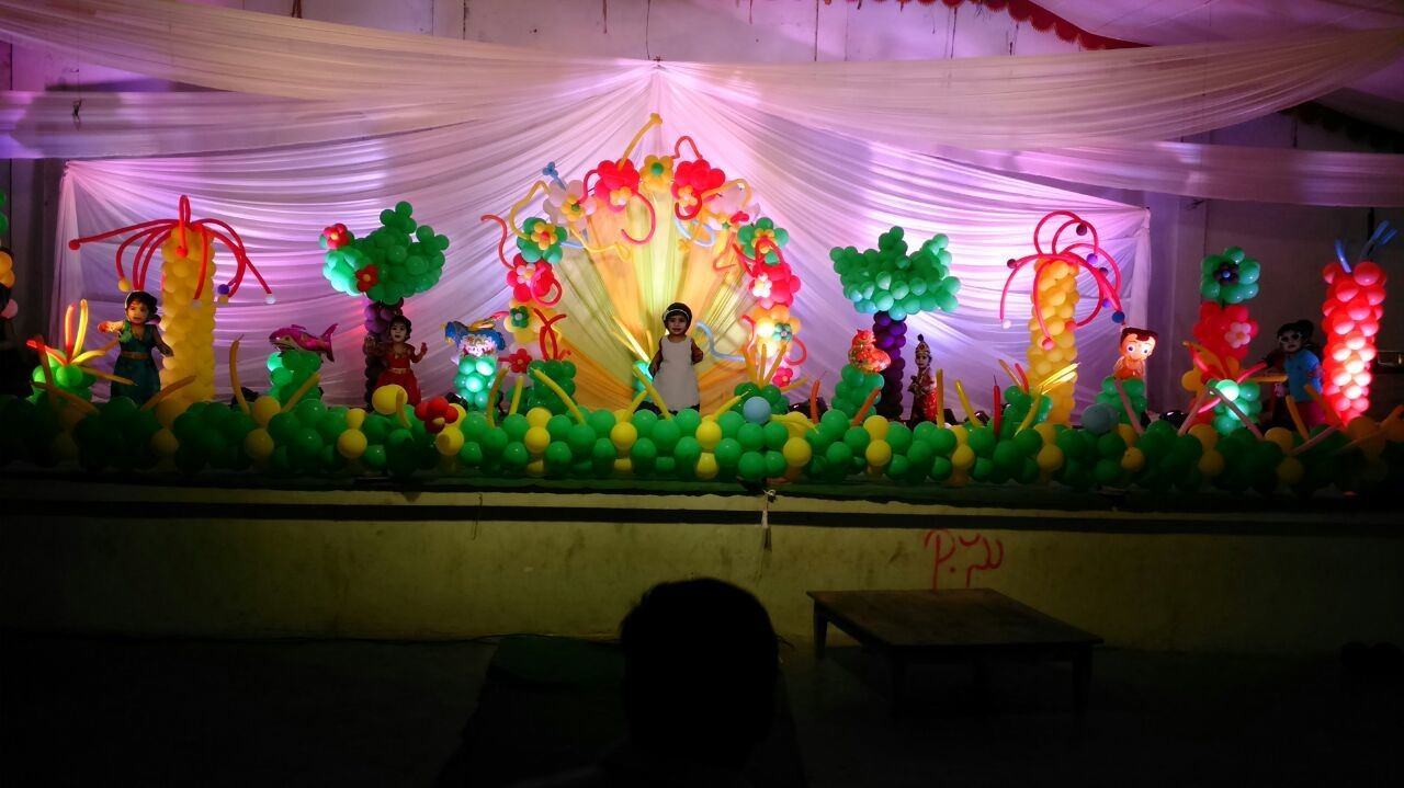 Birthday party organizers and event decorators in Vijayawada Guntur