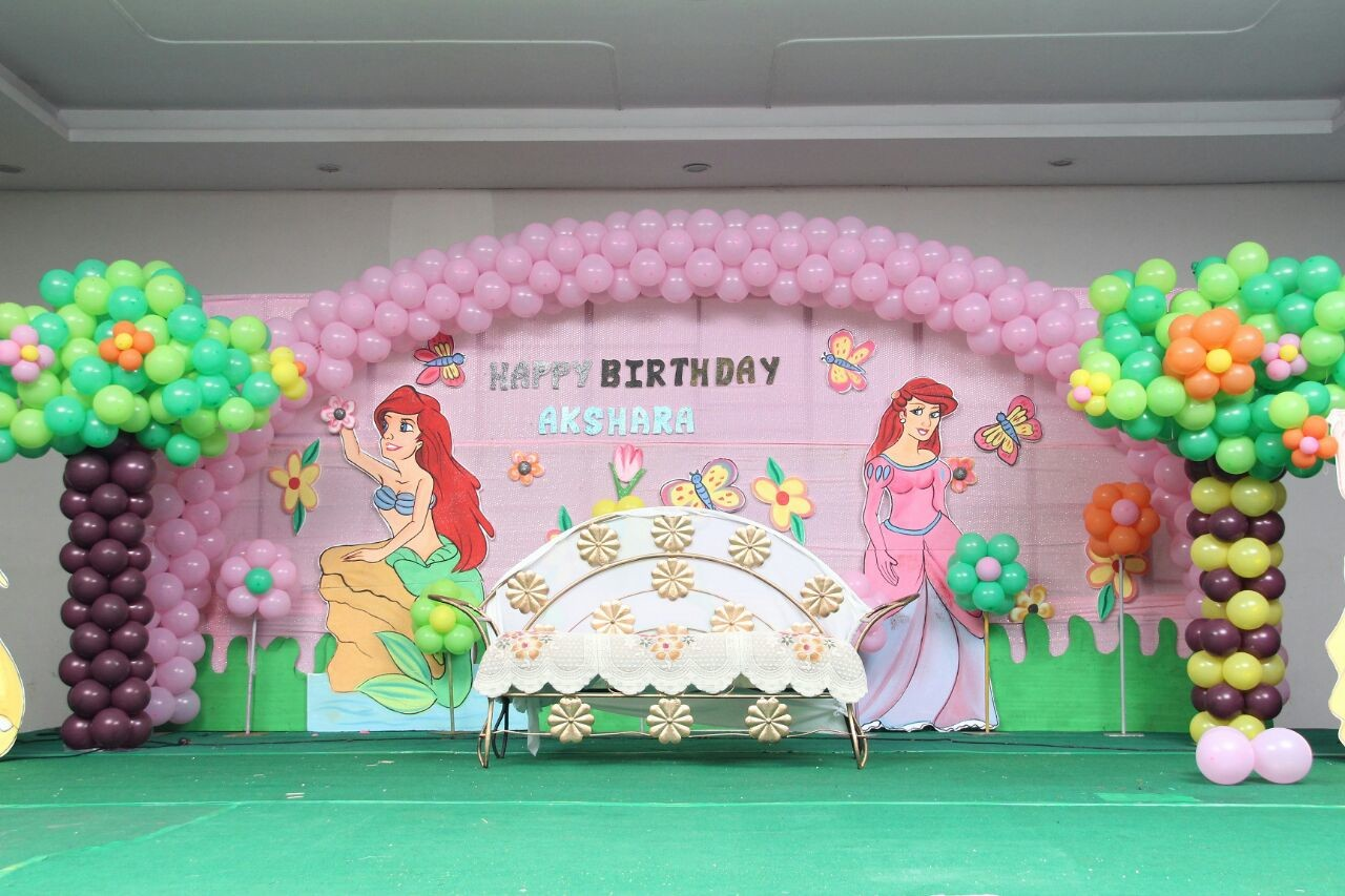 birthday party decorators and event organizers in