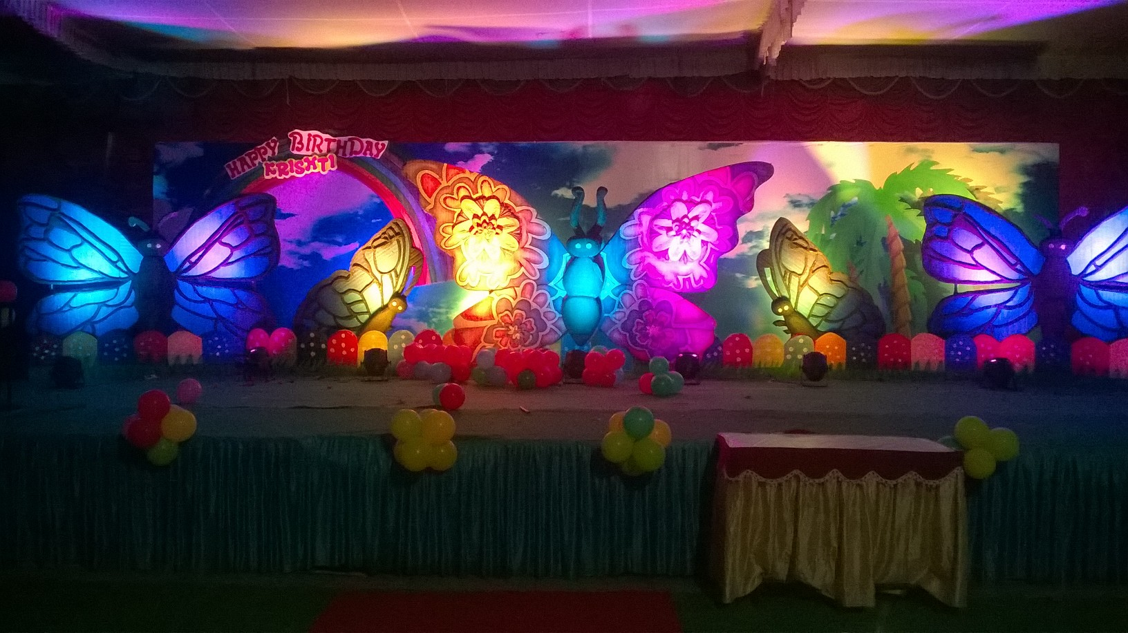 Birthday decorators and Birthday party event organizers in